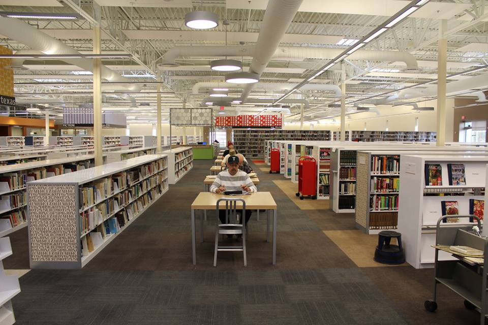 Texas Walmart Transformed Into The Largest Library In America