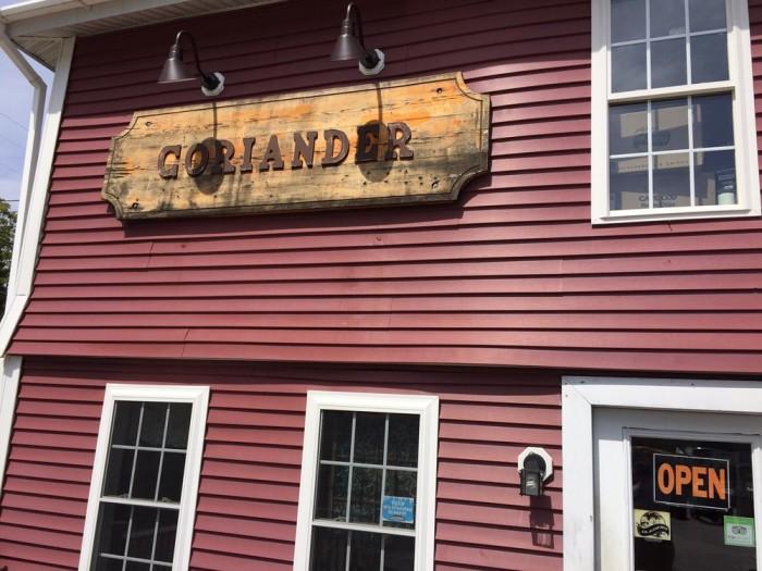 12. Coriander Cafe (Eastford)