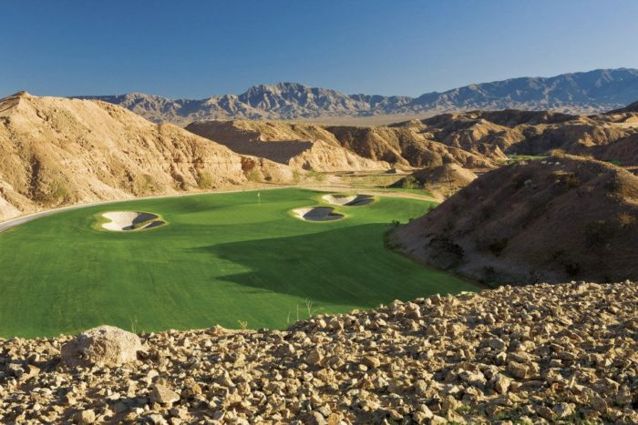 8. Golf on one of America's best golf courses...right here in Nevada.