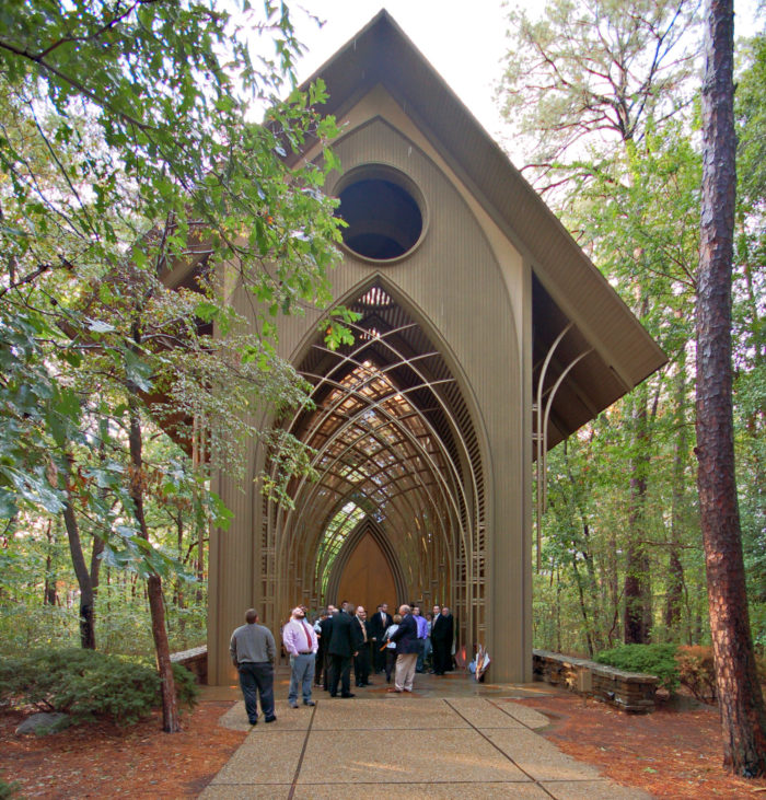 Theres No Chapel In The World Like This One In Arkansas