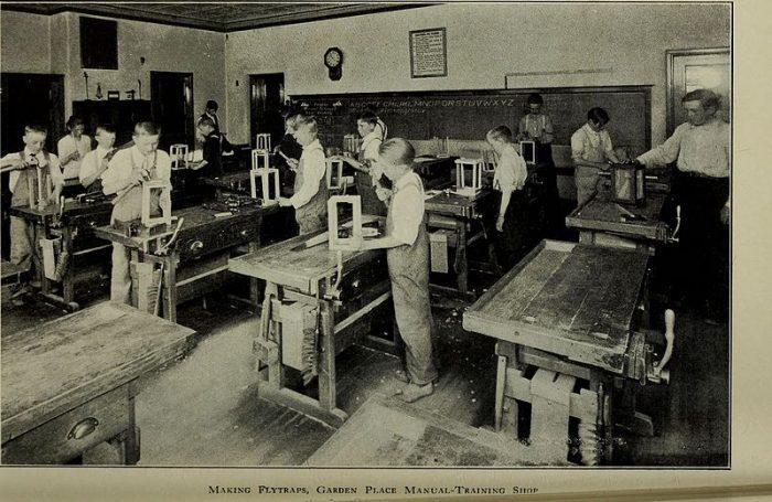 14. Manual-Training Shop, 1918