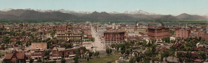 3. Downtown Denver, 1898