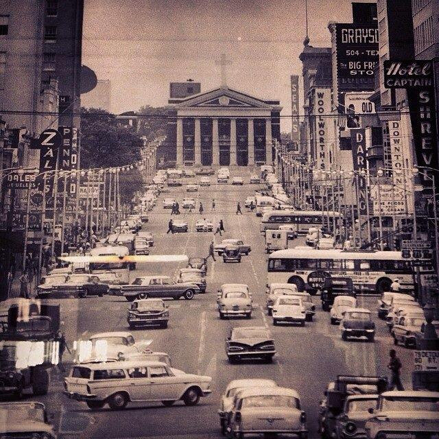 Vintage Photographs Of Louisiana Cities In The 1960s
