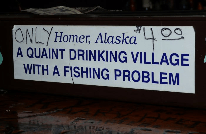 These 30 Signs Found In Alaska Sum Up Last Frontier Life