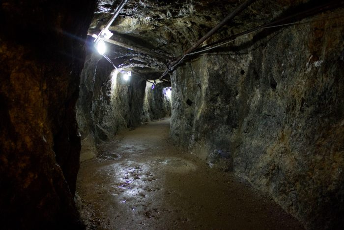 New Jersey Hidden Rainbow Tunnel At Sterling Hill Mining