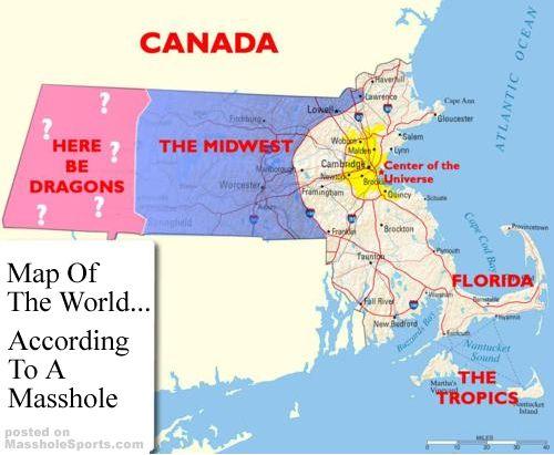 5 Hilarious Maps Of Massachusetts