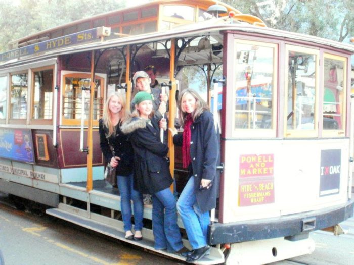 9. Ride a cable car to the wharf.