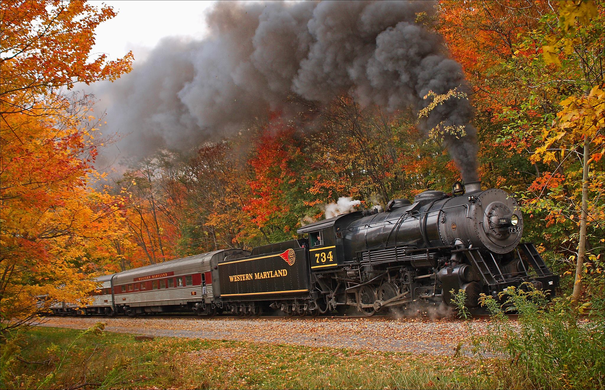 Fall In Maine Wallpaper Take This Fall Foliage Train Ride Through Maryland For A