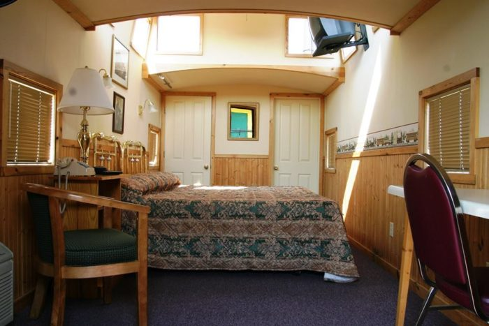 Youll Never Forget An Overnight In This Retired Caboose
