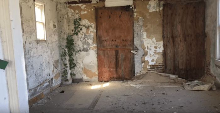 Chilling Footage Of Abandoned Gypsy Murder House In Maryland