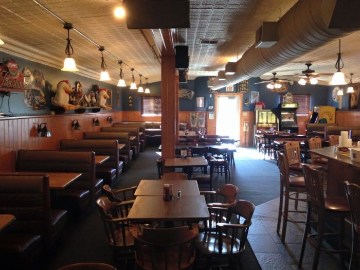 Brass Rail Is A Small Town Restaurant in Minnesota Thats