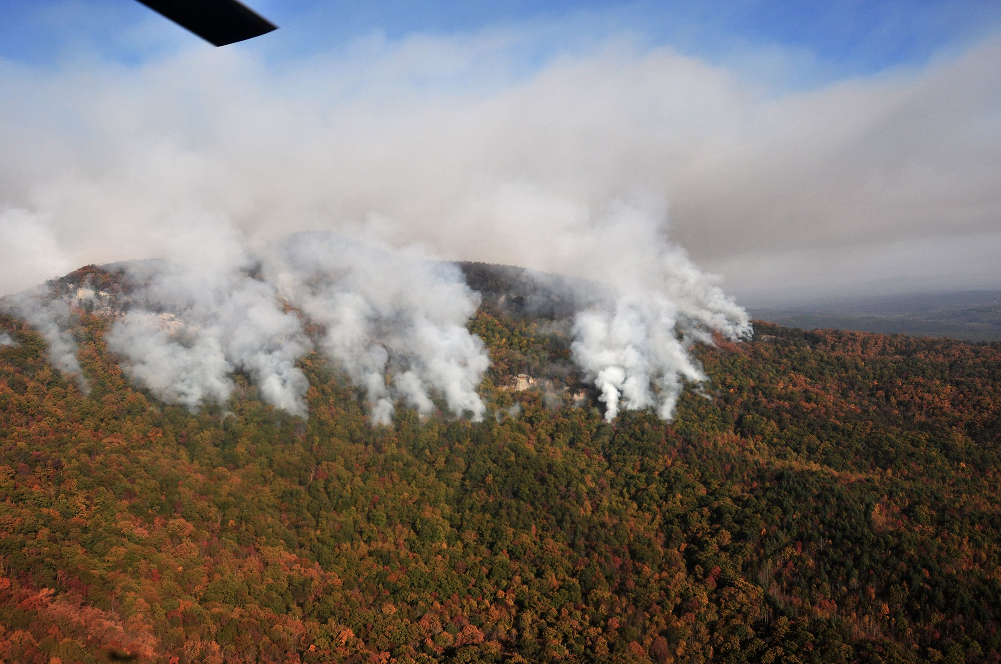 Wildfires Are Lapping At South Carolinas Most