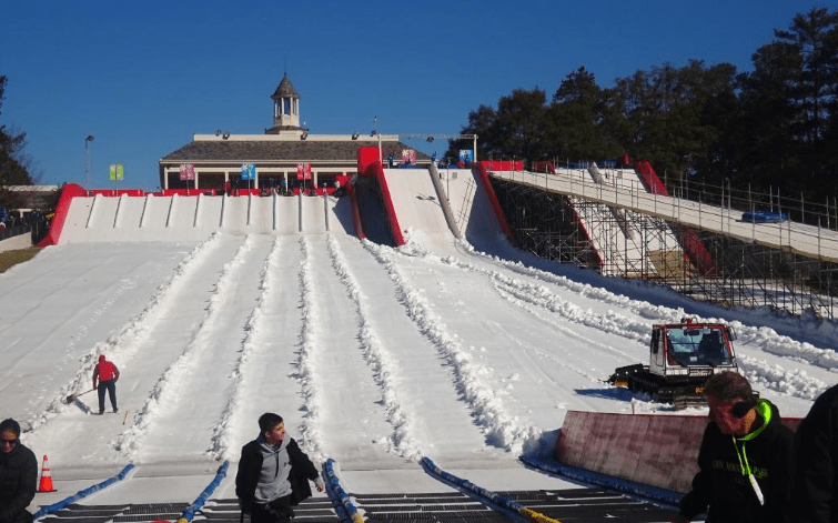 The Most Amazing Winter Park In Georgia Is Snow Mountain
