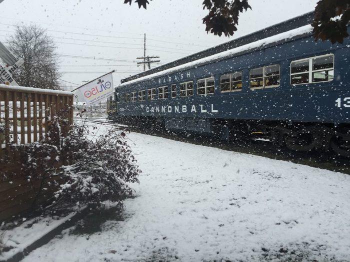 Santa Train Ride Near Pittsburgh Is Amazing