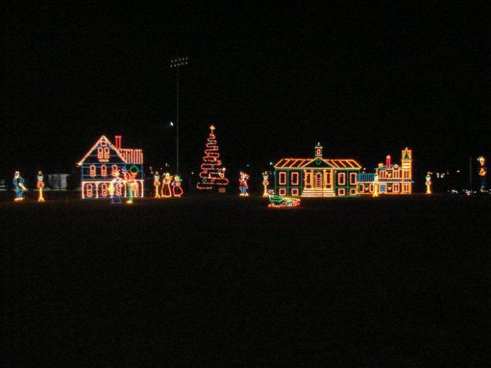 12 Best Christmas Light Displays In Kentucky 2016