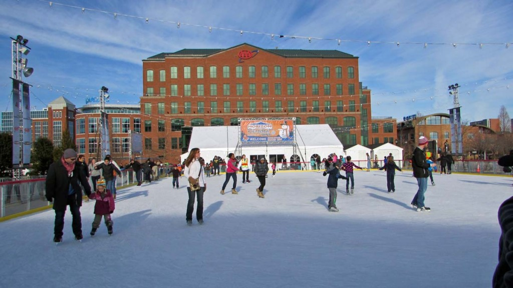 Visit An Ice Skating Rink In Delaware For Some Magical