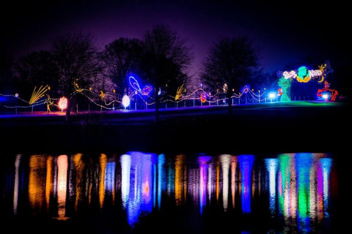 Zoo Lights Memphis Tn