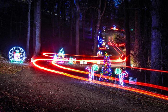 Highland Park Christmas Lights Tour