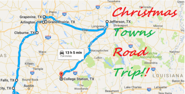 Road Trip Through The Best Christmas Towns In Texas