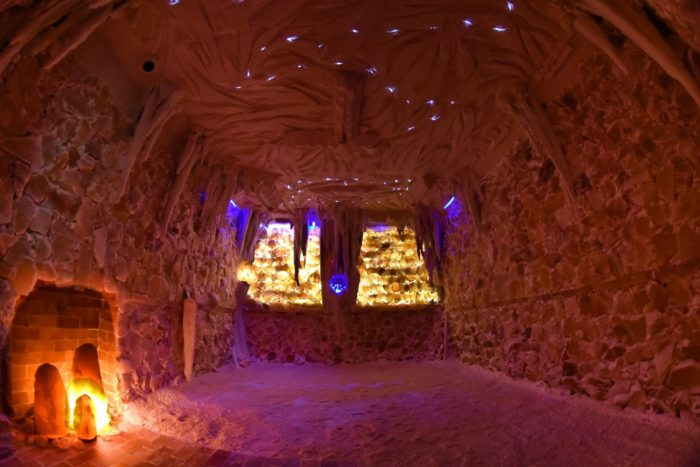 massage zero gravity chair design london the salt cave in south carolina is a relaxing himalayan retreat
