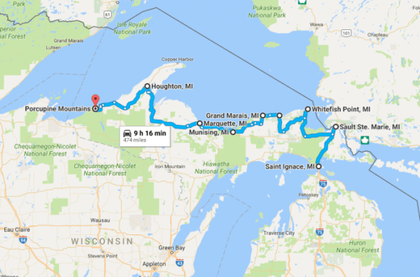 The Ultimate OneWeek Road Trip Through Michigan39s Upper
