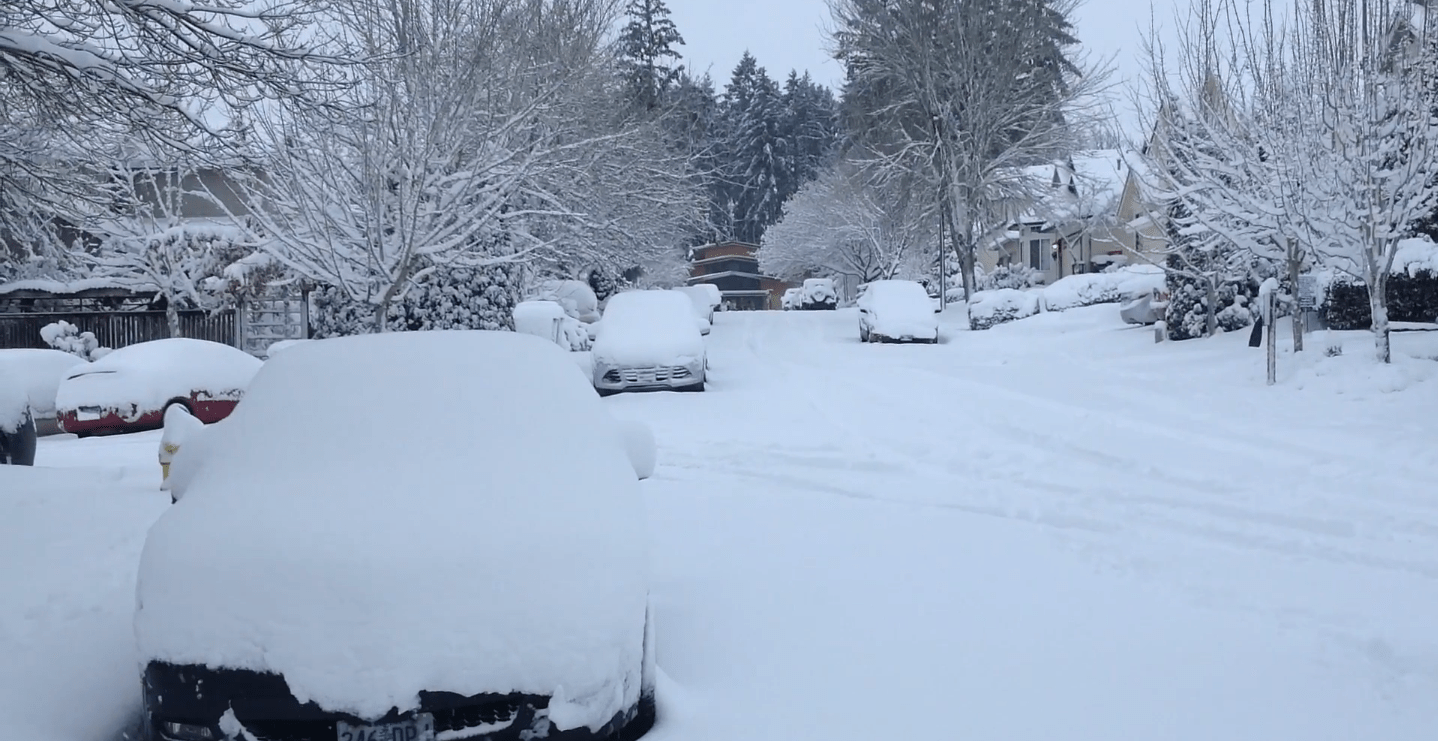 State Of Emergency Declared As Oregon Battles Record Snowfall