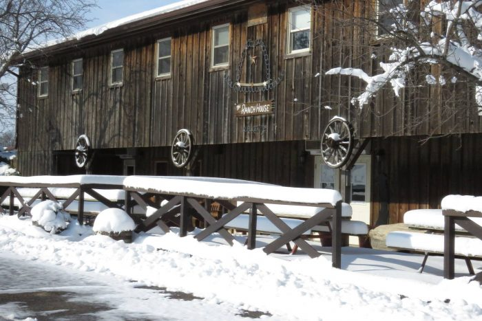 White Pines Ranch Has The Most Beautiful Winter Horseback Riding Trail In Illinois