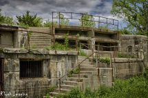 Remnants Of Abandoned Fort Hancock In Jersey