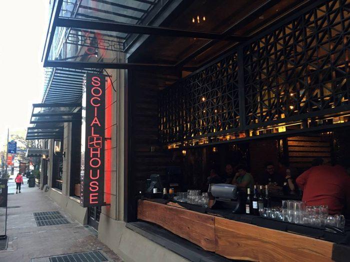 Social House 7 Is The Best Glass Bottom Restaurant in Pittsburgh
