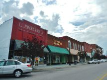 Downtown Albertville Alabama