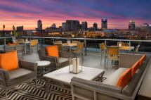 Rooftop Lounge Restaurant In Nashville