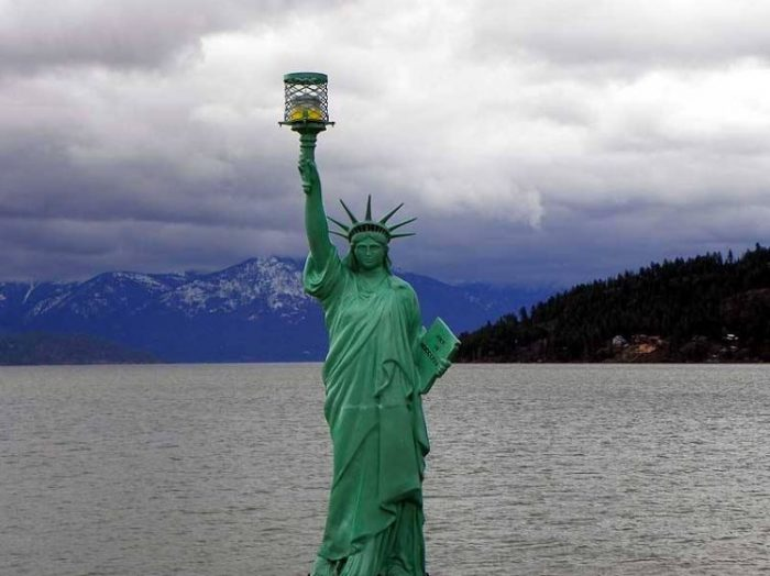 Most People Dont Know Theres A Little Statue of Liberty