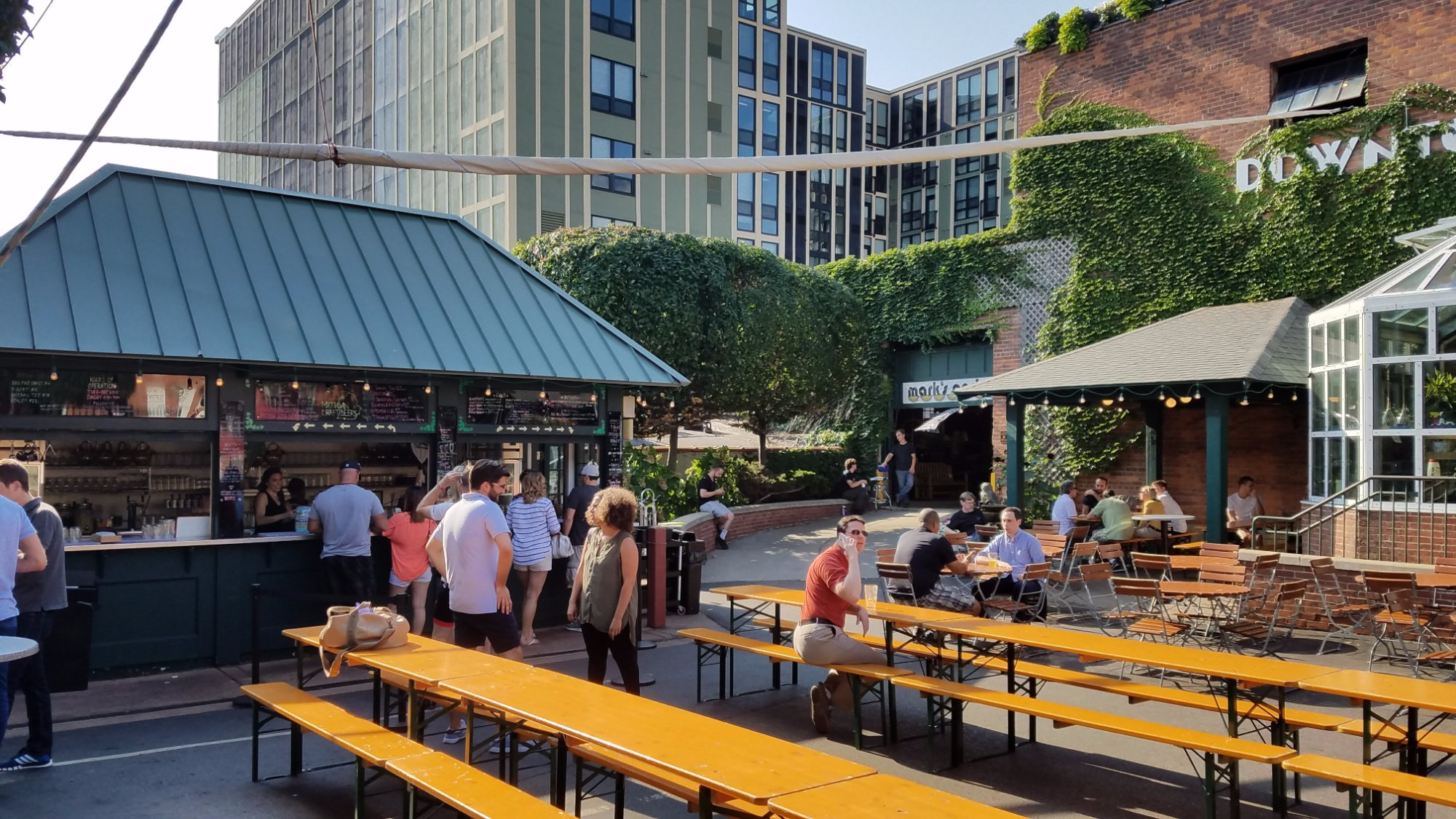 These 9 Restaurants Have The Best Patio Seating In Michigan