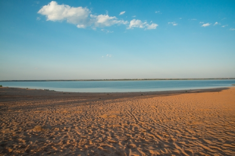 perfect beach chairs cesca chair replacement seats uk foss lake: the underrated sandy in oklahoma you absolutely need to visit