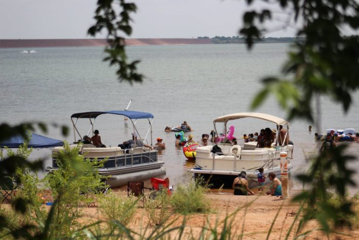 Foss Lake The Underrated Sandy Beach In Oklahoma You