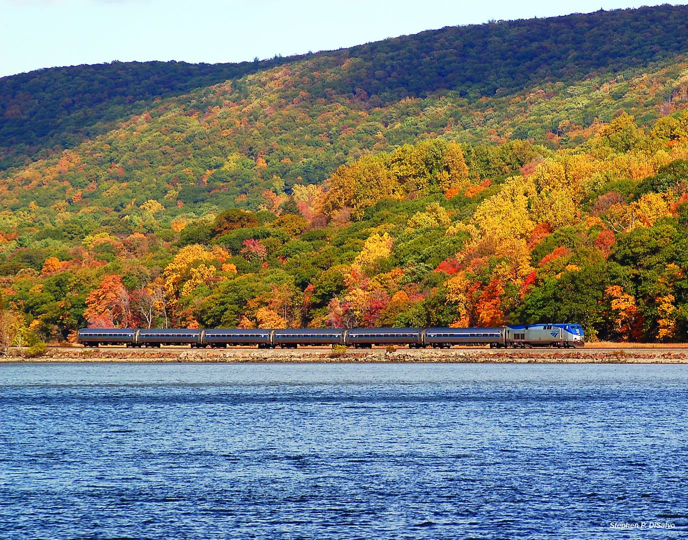 The Fall Foliage Train Ride Through Massachusetts With