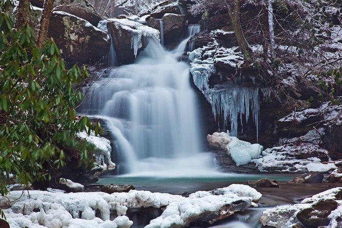 Looking Glass Falls Desktop Wallpaper The 2017 2018 Winter Season In West Virginia S Is