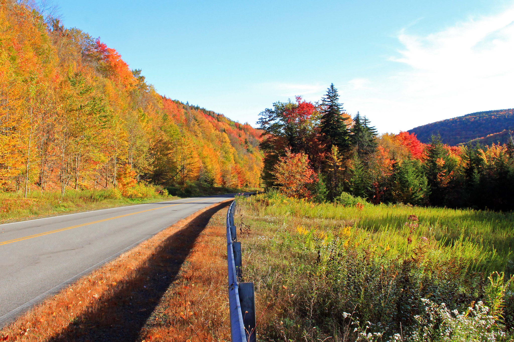 Maine Fall Foliage Wallpaper Highland Scenic Highway The Skyline Drive That Will Show