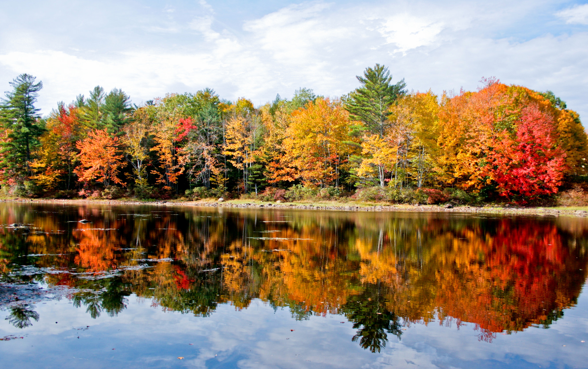 Philadelphia In The Fall Wallpaper Sebago Lake The One Hikeable Lake In Maine That S Simply
