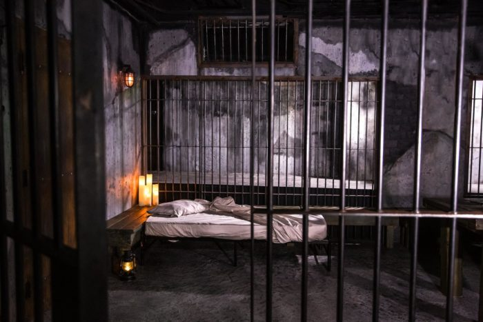 Spend The Night In This Spooky Alcatraz Jail Cell In San