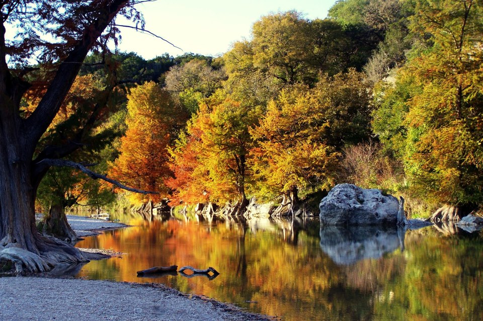 Fall With Water Wallpaper Boerne Is The Best City In Texas To See Fall Foliage