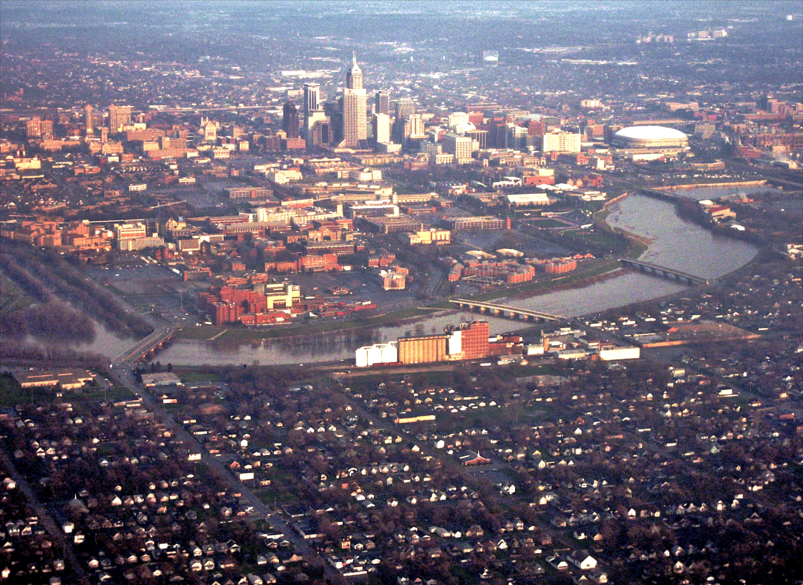9 Best Aerial Views Of Indianapolis