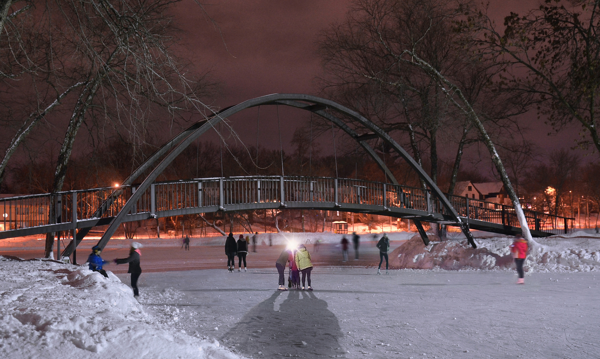 Tenney Park in Madison is an Amazing Natural Ice Rink in Wisconsin and Youll Want To Visit
