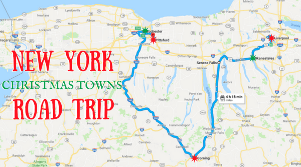The Magical Road Trip Will Take You Through New Yorks