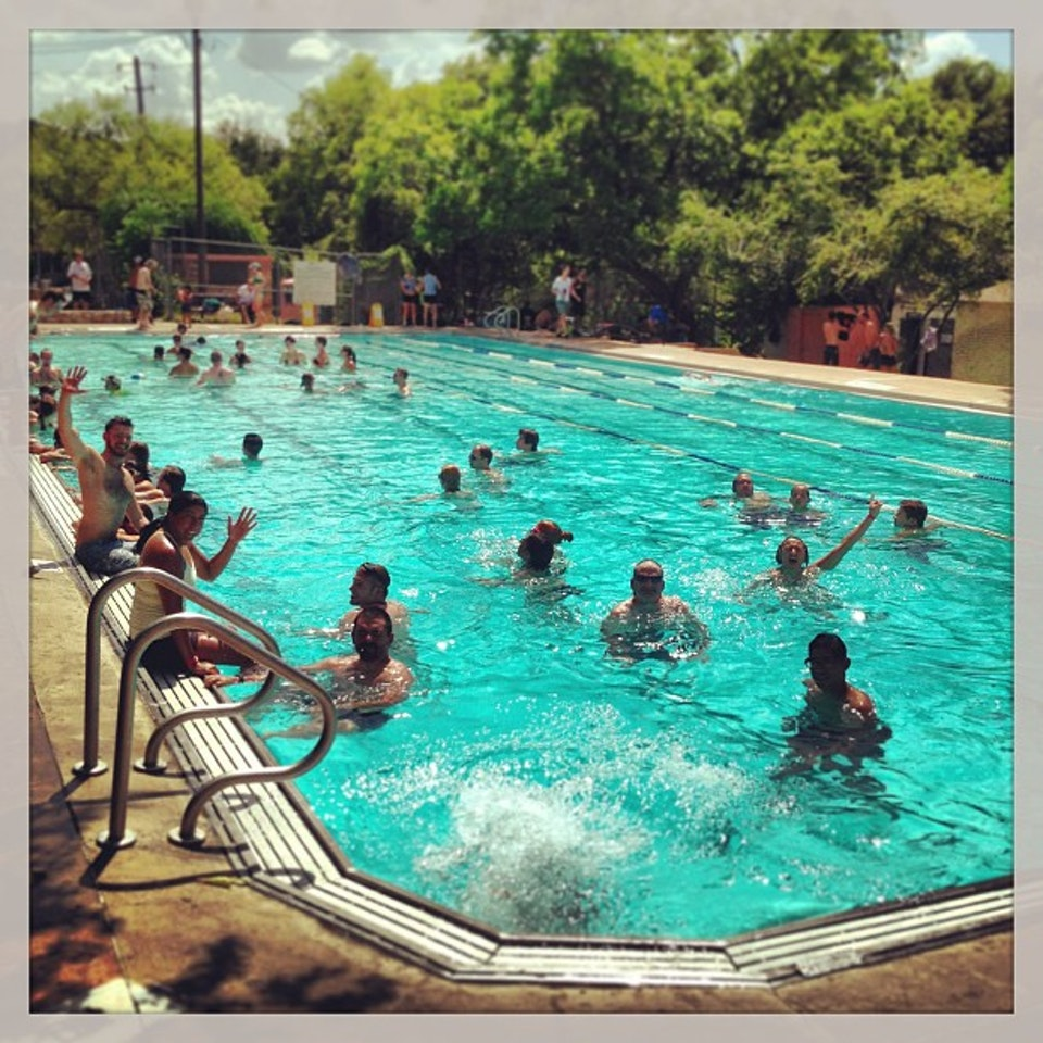 Big Stacy Pool In Texas Is Naturally Heated For YearRound Swimming