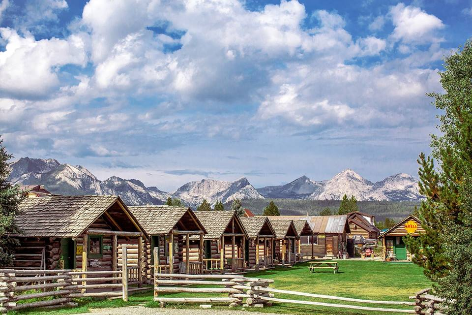 Danners Cabins Is An Awesome Log Cabin Campground In Idaho