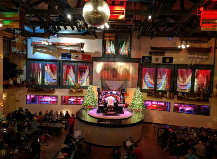 Theres No Other Pizza Place In The World Like Organ Stop