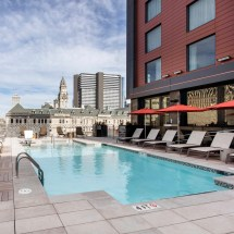 Cool Free Cambria Hotel Rooftop Pool In