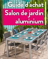 salon de jardin aluminium idee