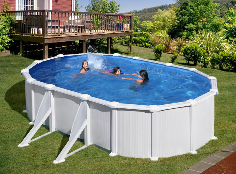 piscine hors sol acier 6 34 x 3 99 x 1 32 m
